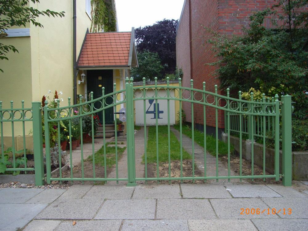 G Nstige Tore Gitter Und Z Une In Hamburg