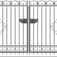 zaunsysteme. Black Bedroom Furniture Sets. Home Design Ideas